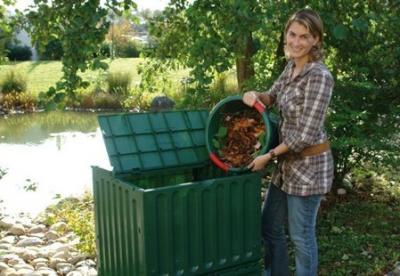 Садовый компост из отходов