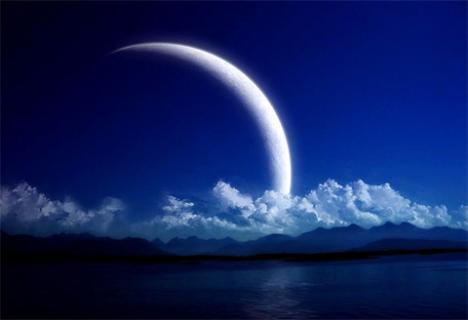 Месячный лунный цикл